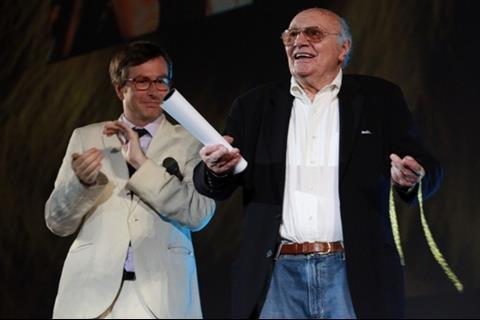 Olivier Pere and Francesco Rosi, Locarno